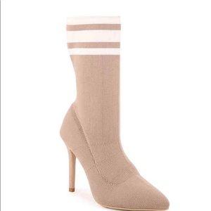 Catherine Malandrino sock booties